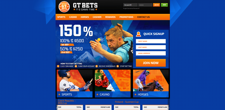 GTBets Home Page